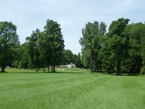 Clubhaus Golfclub Schloss Maxlrain von Loch 18
