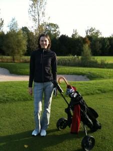Auf der Runde: Golfpark Aschheim in herbstlicher Stimmung