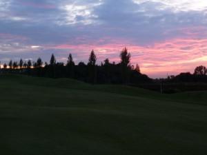 Sunset Golf im Münchner Osten